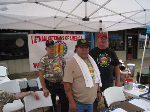 VIETNAM VETERANS BOOTH