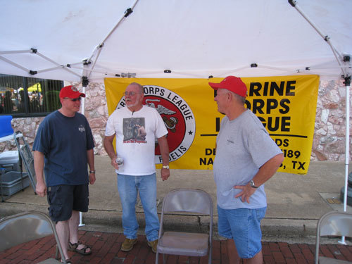 (L-R)WILL LANE, KENNETH RAINS, DAN SINGLETARY