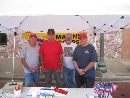 (L-R)DAN SINGLETARY, RONNIE BOWSER, KENNETH RAINS, WILL LANE