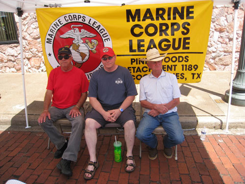(L-R)RONNIE BOWSER, WILL LANE, BUCK LEE