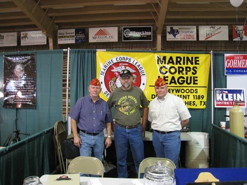 (L-R)DAN SINGLETARY, RICHARD BARNHART, WILL LANE