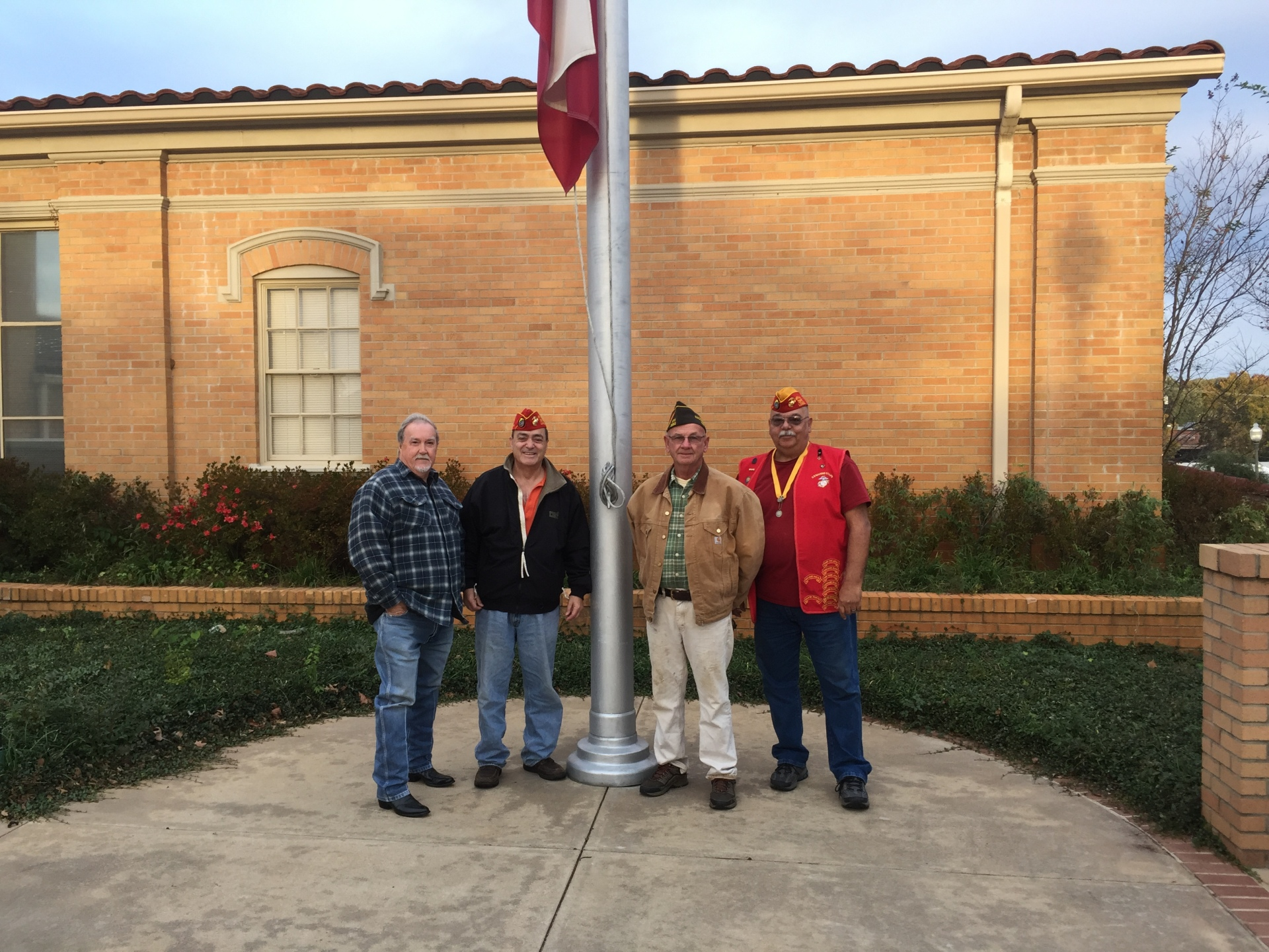 Veteran's Day Placing the Flags 11 November 2017